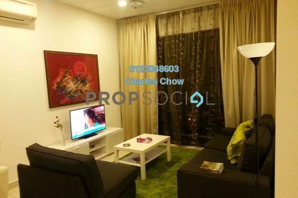 For Rent Condominium at TRiGON Luxury Residences @ Setia Walk, Pusat Bandar Puchong Freehold Fully Furnished 2R/1B 2k
