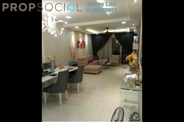 For Rent Condominium at KM1, Bukit Jalil Freehold Fully Furnished 4R/3B 3k