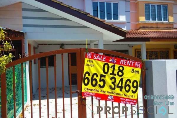 For Sale Terrace at Taman Pendamar Indah 2, Port Klang Freehold Unfurnished 2R/2B 390k