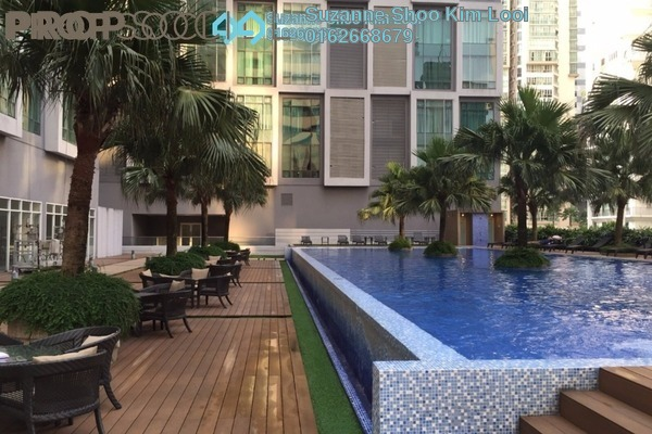 For Rent Condominium at Soho Suites, KLCC Freehold Fully Furnished 2R/2B 3.6k