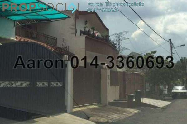 For Sale Terrace at Taman OUG, Old Klang Road Freehold Semi Furnished 5R/3B 928k