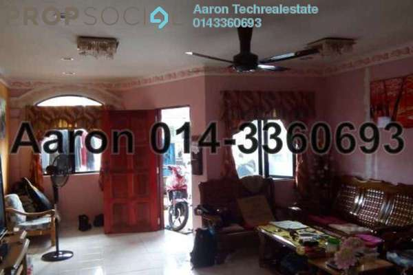 For Sale Terrace at Taman Bukit Anggerik, Cheras South Leasehold Semi Furnished 2R/1B 358k