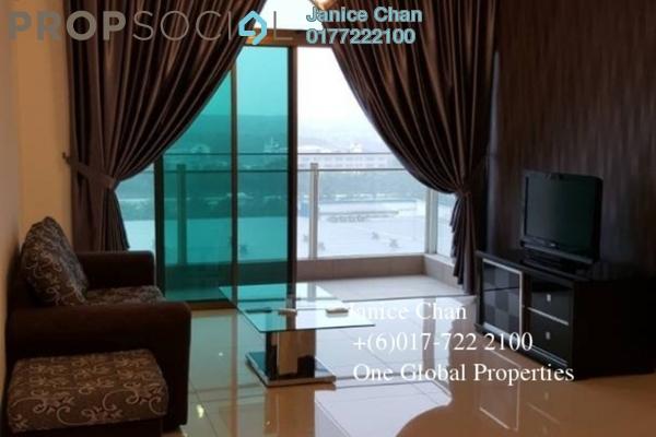 For Rent Serviced Residence at Parc Regency, Johor Bahru Freehold Semi Furnished 1R/2B 1.3k