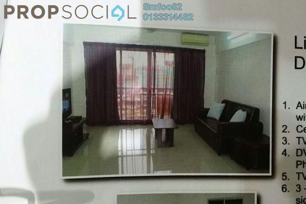 For Rent Condominium at Melur Apartment, Sentul Leasehold Fully Furnished 3R/2B 1.55k