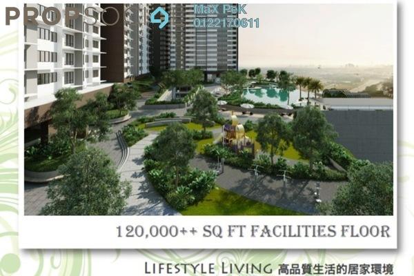 For Sale Condominium at Kiara Plaza, Semenyih Freehold Unfurnished 3R/2B 286k