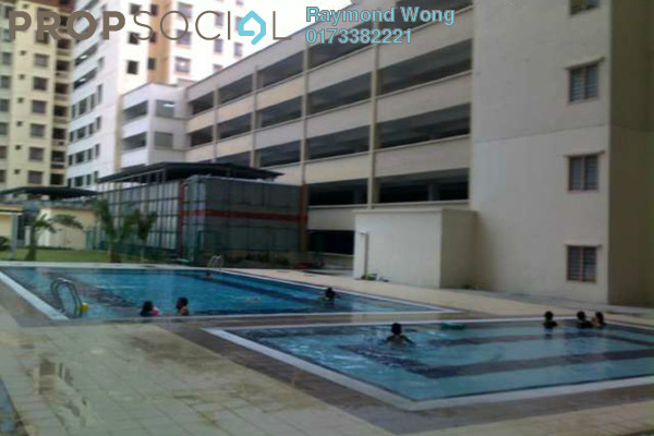 For Rent Condominium at Permai Puteri, Ampang Freehold Unfurnished 3R/2B 1.2k