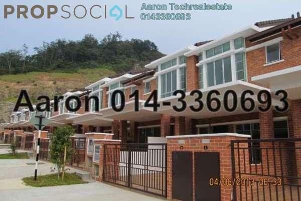 For Sale Terrace at Palm Walk, Bandar Sungai Long Freehold Semi Furnished 4R/4B 948k