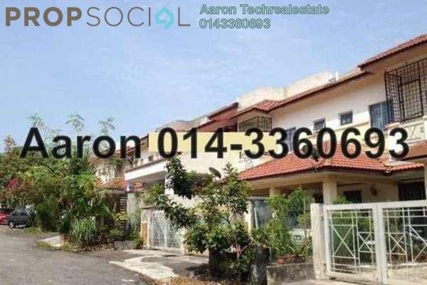 For Sale Terrace at Section 3, Bandar Mahkota Cheras Freehold Semi Furnished 4R/3B 548k
