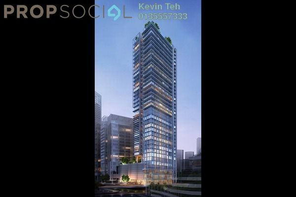 For Rent Office at KL Eco City, Mid Valley City Freehold Semi Furnished 0R/0B 4.14k