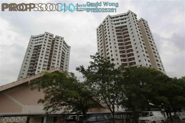 For Sale Condominium at Sri Angsana Hilir, Desa Pandan Leasehold Fully Furnished 3R/2B 296k