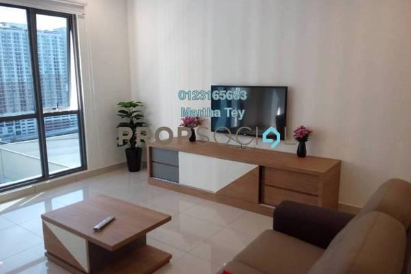 For Rent Condominium at Da Men, UEP Subang Jaya Freehold Fully Furnished 2R/2B 3.8k