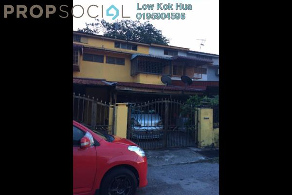 For Sale Land at Taman Sri Rampai, Setapak Freehold Semi Furnished 3R/2B 550k