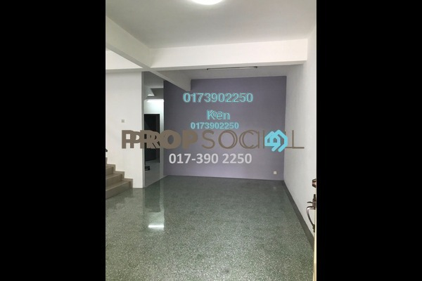 For Rent Terrace at Section 17, Petaling Jaya Freehold Semi Furnished 4R/2B 2k