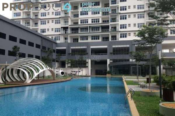 For Sale Condominium at Skypod, Bandar Puchong Jaya Freehold Semi Furnished 3R/2B 655k