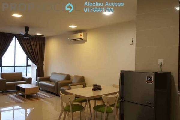For Rent Condominium at KL Gateway, Bangsar South Freehold Fully Furnished 2R/2B 3.3k