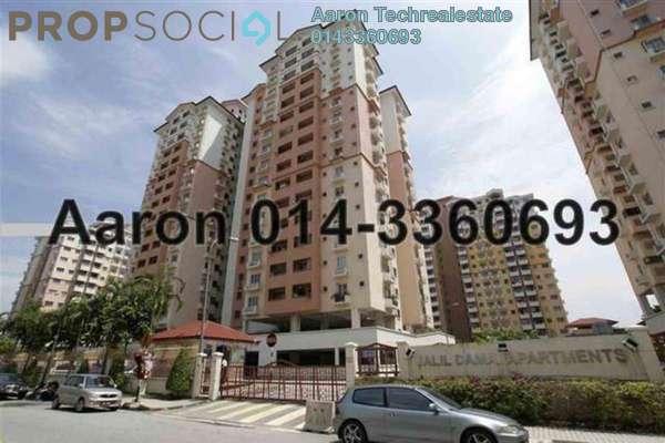 For Sale Apartment at Jalil Damai, Bukit Jalil Freehold Semi Furnished 3R/2B 465k