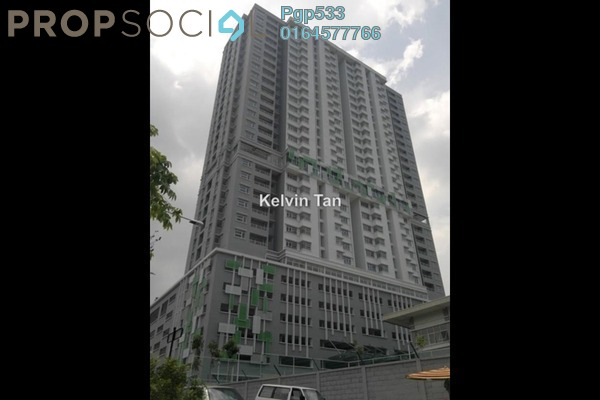 For Rent Apartment at Pulse, Gelugor Freehold Fully Furnished 3R/2B 1.1k