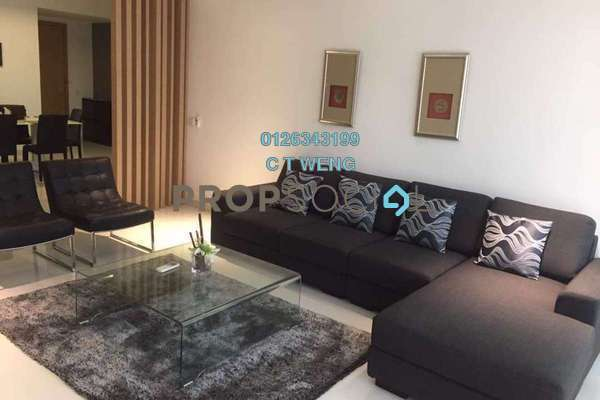 For Rent Condominium at Verticas Residensi, Bukit Ceylon Freehold Fully Furnished 4R/4B 6k