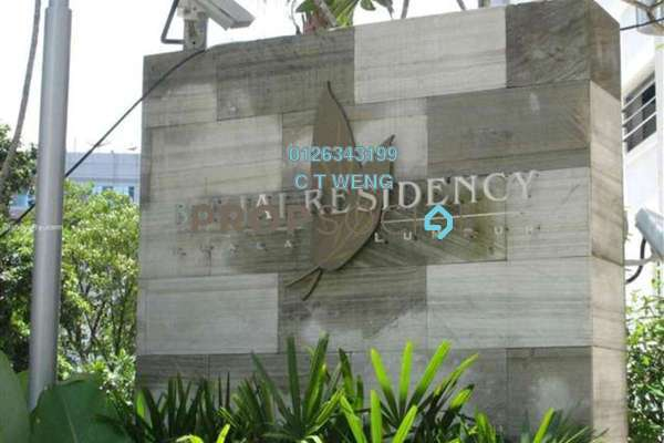 For Rent Condominium at Binjai Residency, KLCC Freehold Fully Furnished 4R/5B 7k