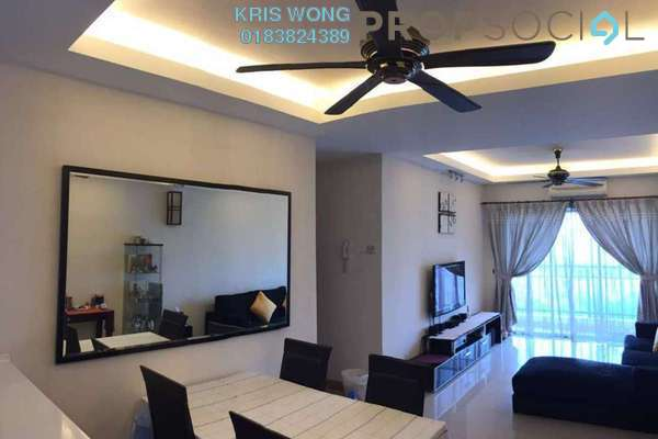 For Sale Condominium at Kuchai Avenue, Kuchai Lama Freehold Semi Furnished 3R/2B 499k
