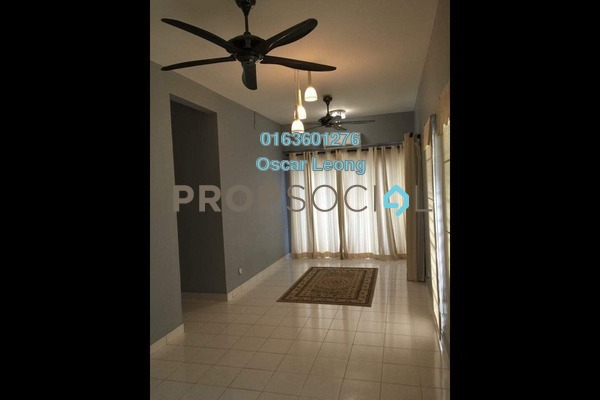 For Rent Condominium at Taman Segar Perdana, Cheras Freehold Semi Furnished 3R/2B 1.3k