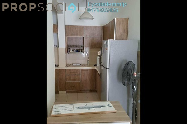 For Rent Apartment at Kristal Heights, Shah Alam Freehold Fully Furnished 3R/2B 1.8k
