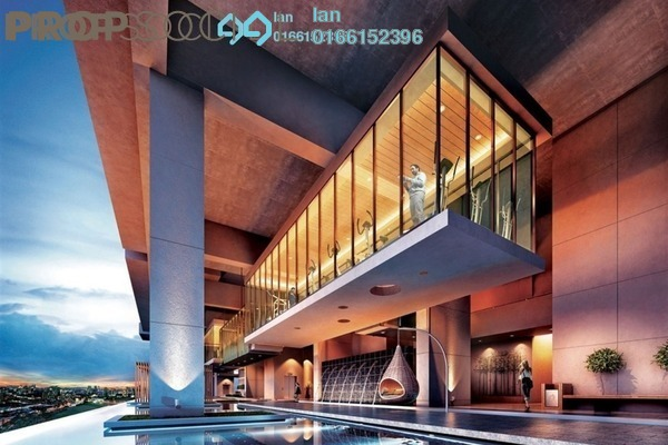 For Sale Condominium at The Andes, Bukit Jalil Freehold Semi Furnished 3R/2B 654k