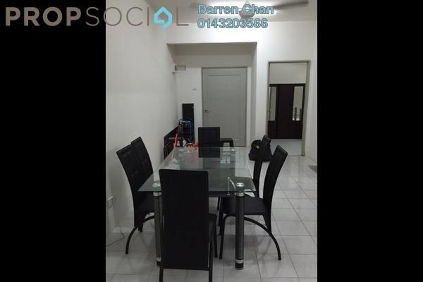 For Rent Apartment at Villa Tropika Apartment, Bangi Freehold Semi Furnished 3R/2B 1.2k