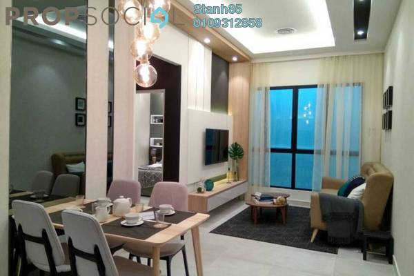 For Sale Condominium at Taman Connaught, Cheras Freehold Unfurnished 2R/2B 310k