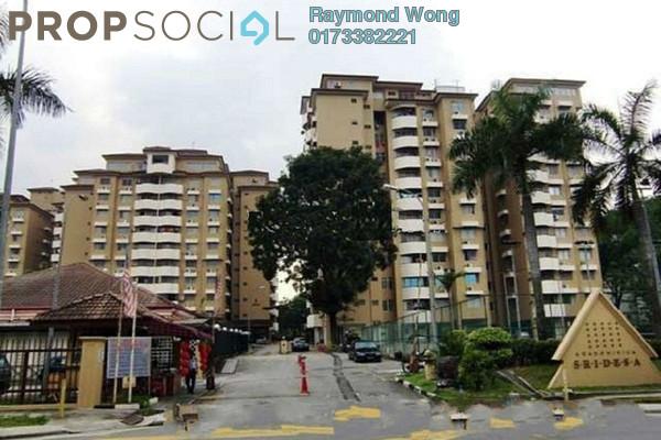 For Rent Condominium at Sri Desa, Kuchai Lama Freehold Semi Furnished 3R/2B 1.5k