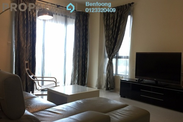 For Rent Condominium at Casa Kiara II, Mont Kiara Freehold Fully Furnished 3R/2B 3.6k