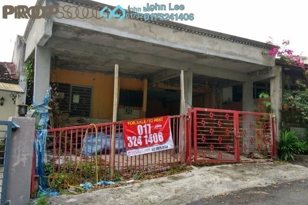 For Sale Terrace at Taman Zooview, Ukay Freehold Semi Furnished 4R/3B 590k