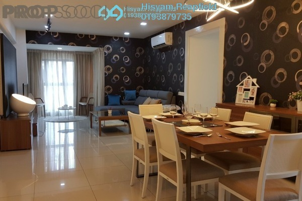 For Sale Condominium at Royalle Condominium, Segambut Freehold Semi Furnished 2R/2B 670k