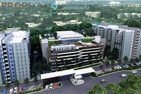 For Sale Condominium at Kampung Sungai Tangkas, Kajang Freehold Unfurnished 2R/3B 327k