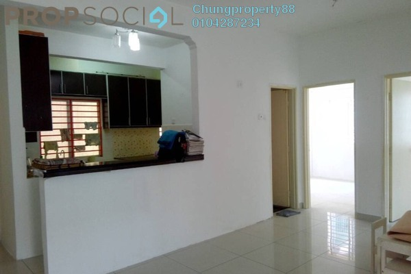 For Rent Apartment at Taman Cheras Intan, Batu 9 Cheras Freehold Semi Furnished 3R/2B 1.1k