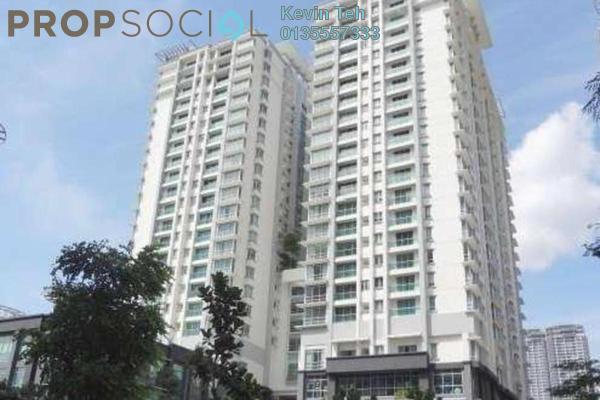 For Rent Condominium at Solaris Dutamas, Dutamas Freehold Semi Furnished 1R/1B 3.5k