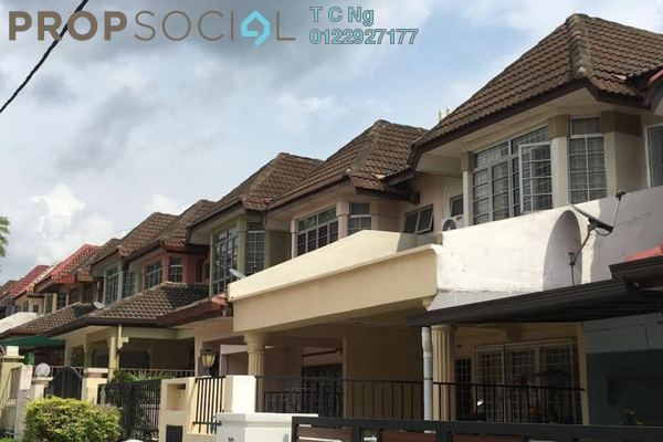 For Rent Terrace at Tempua, Bandar Puchong Jaya Freehold Unfurnished 4R/3B 1.6k