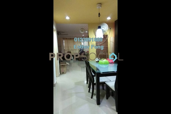 For Rent Terrace at Taman Megah, Kepong Freehold Fully Furnished 4R/2B 1.8k