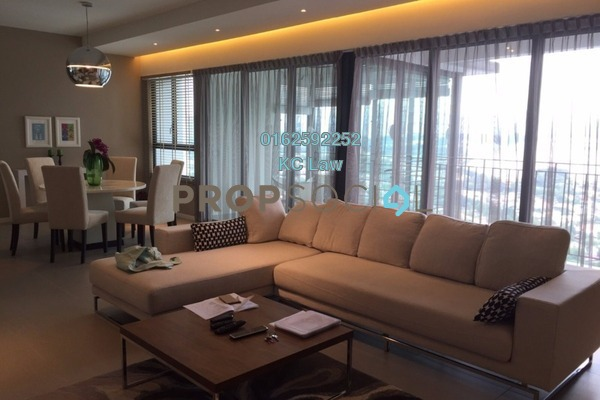 For Rent Condominium at Jaya One, Petaling Jaya Freehold Fully Furnished 4R/4B 7.2k