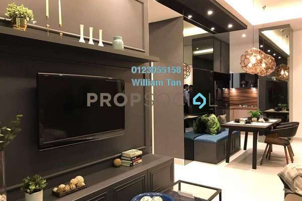 For Sale Condominium at Majestic Maxim, Cheras Leasehold Unfurnished 2R/2B 336k