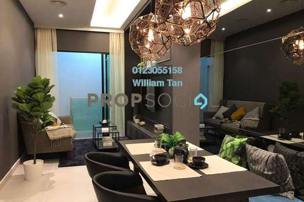 For Sale Condominium at Majestic Maxim, Cheras Leasehold Unfurnished 3R/2B 414k