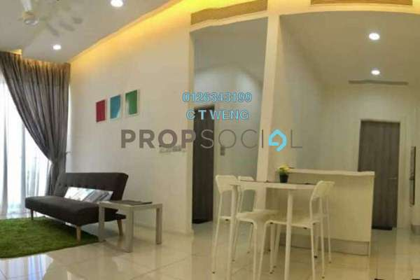 For Rent Condominium at M Suites, Ampang Hilir Freehold Fully Furnished 2R/2B 3.3k