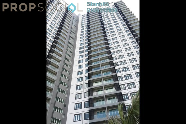 For Sale Condominium at Mercury Serviced Apartment @ Sentul Village, Sentul Freehold Unfurnished 3R/2B 598k
