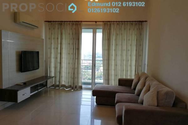 For Rent Condominium at Laman Baiduri, Subang Jaya Freehold Fully Furnished 3R/2B 3k