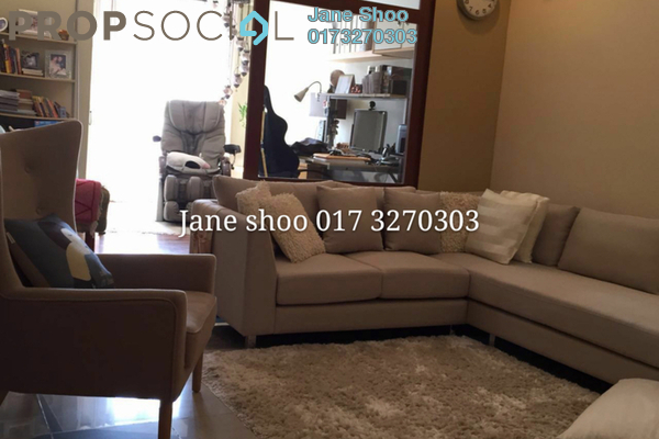 For Sale Townhouse at Bukit OUG Townhouse, Bukit Jalil Freehold Semi Furnished 3R/3B 628k