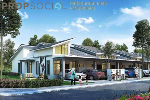 For Sale Terrace at Taman Meru, Klang Freehold Unfurnished 4R/2B 355k