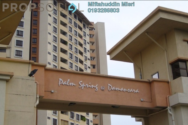 For Sale Condominium at Palm Spring, Kota Damansara Freehold Unfurnished 3R/2B 420k
