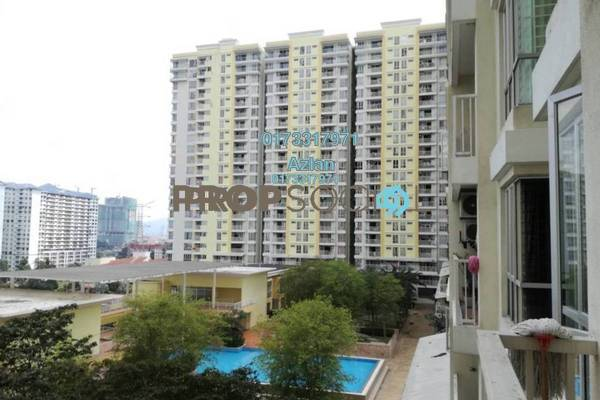 For Sale Condominium at Platinum Lake PV13, Setapak Freehold Unfurnished 4R/2B 510k