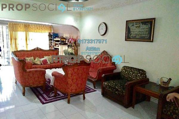 For Sale Terrace at Taman Cempaka, Pandan Indah Leasehold Semi Furnished 4R/3B 750k