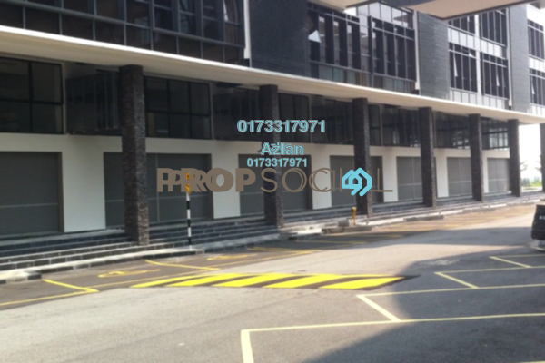 For Rent Shop at The Atmosphere, Bandar Putra Permai Leasehold Unfurnished 0R/0B 3.5k